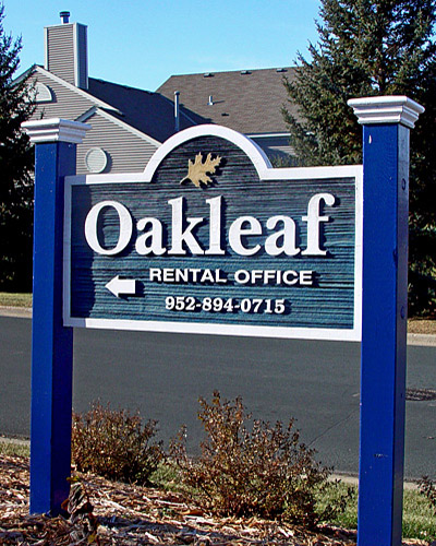 Sandblasted, Routed, or Carved Sign (3D)
